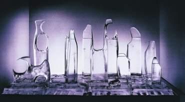 Como un trozo de vidrio
